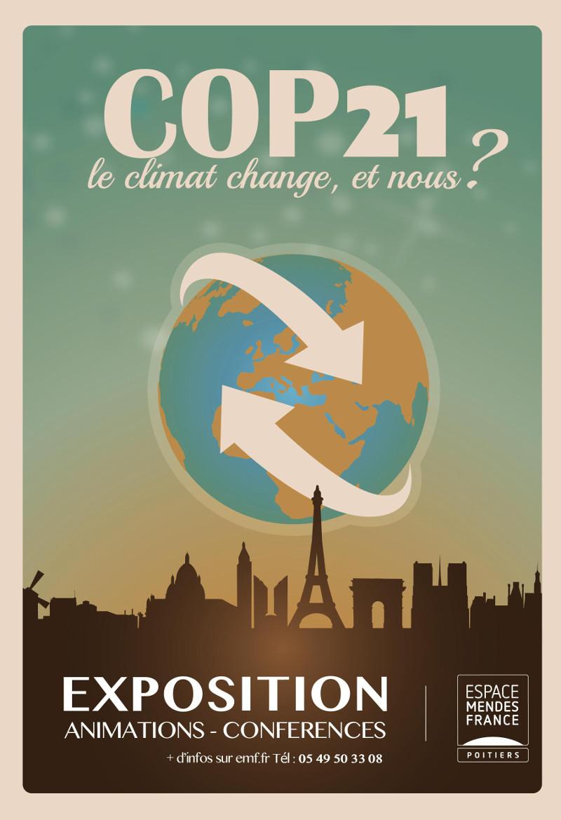 France 3 Poitou-Charentes : Poitiers : une expo pour mesurer les risques du réchauffement climatique