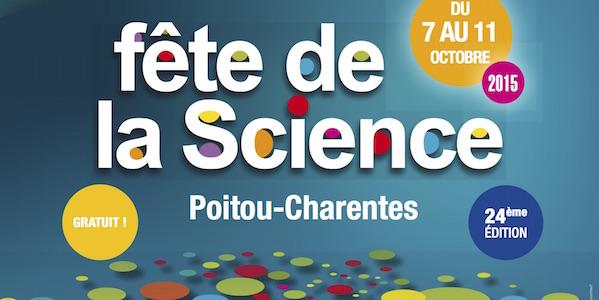 Programme de la Fête de la science 2015 en Poitou Charentes