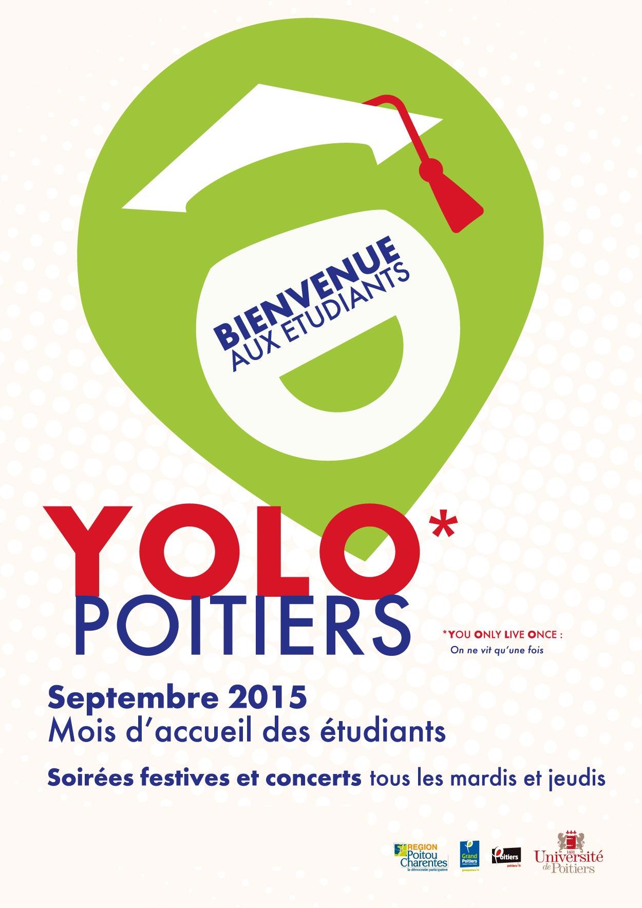 YOLO * Poitiers – Mois d'accueil des étudiants