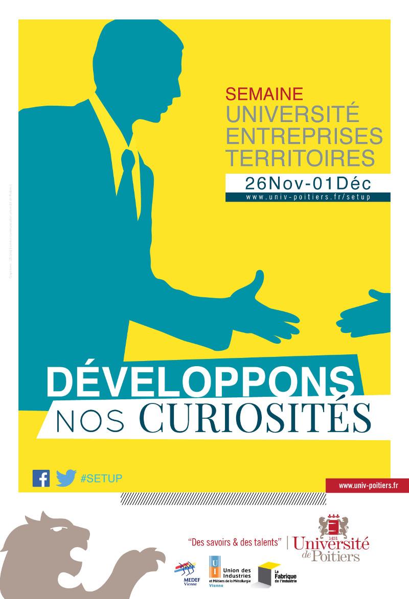 Semaine Université Entreprises Territoires – 26 novembre au 1er décembre