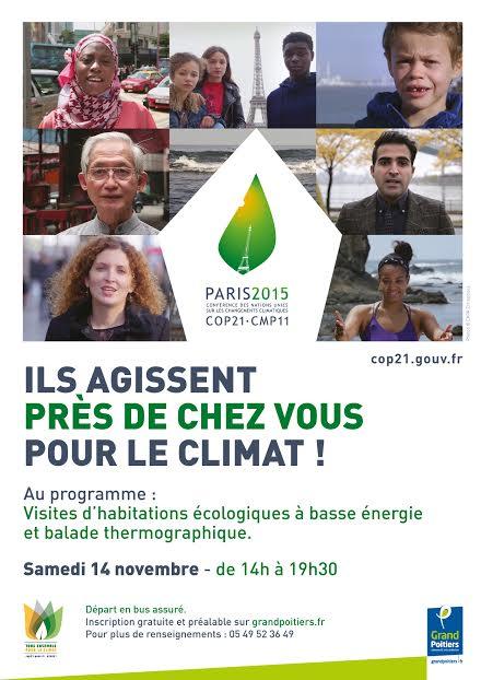 Visites d'habitations écologiques à basse énergie et balade thermographique