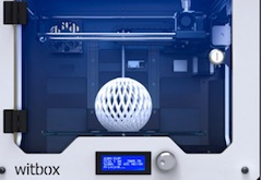 Démonstration d'une imprimante 3D