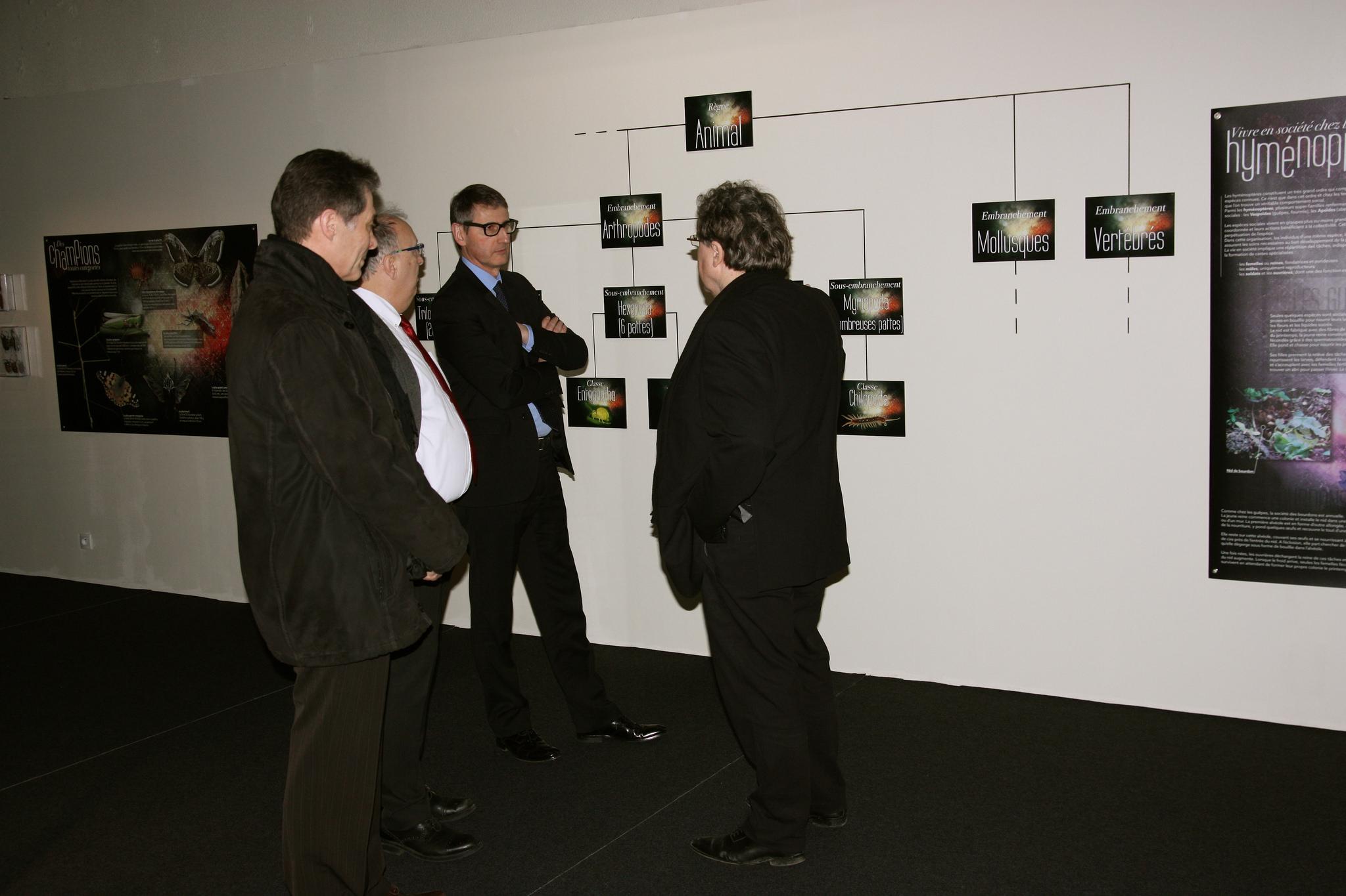 Visite des présidents d'Universcience et de la réunion des CCSTI