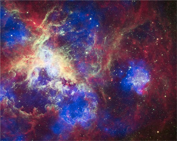 Déchiffrer les couleurs du Cosmos