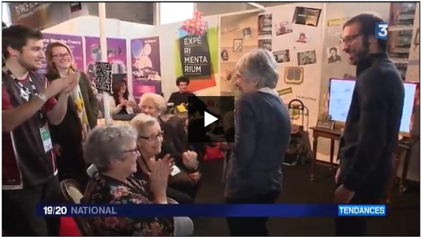 Reportage de FranceTv sur la Clique des mamies connectées