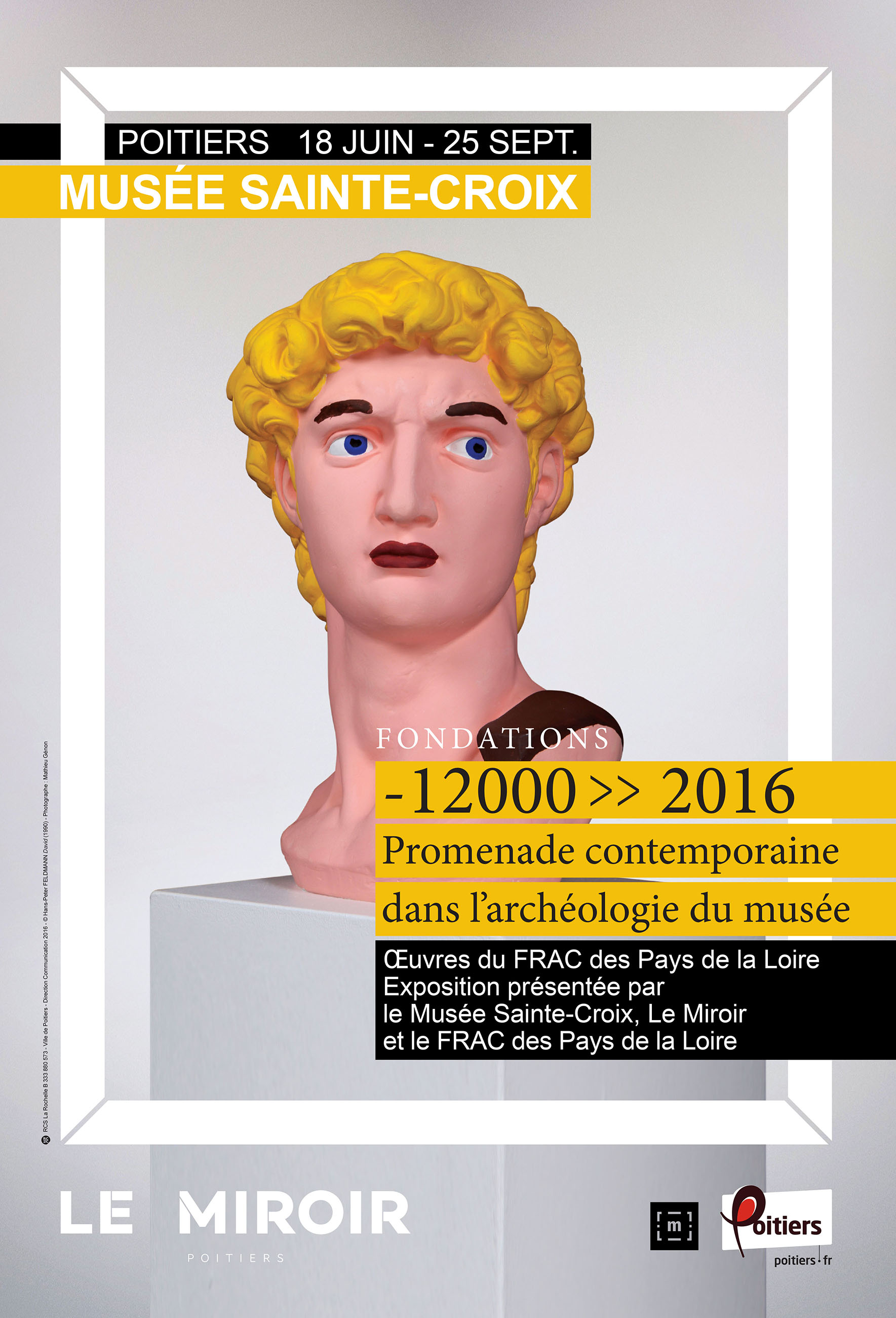 -12 000 >> 2016 : Promenade contemporaine dans l'archéologie du musée [«Fondations II»]