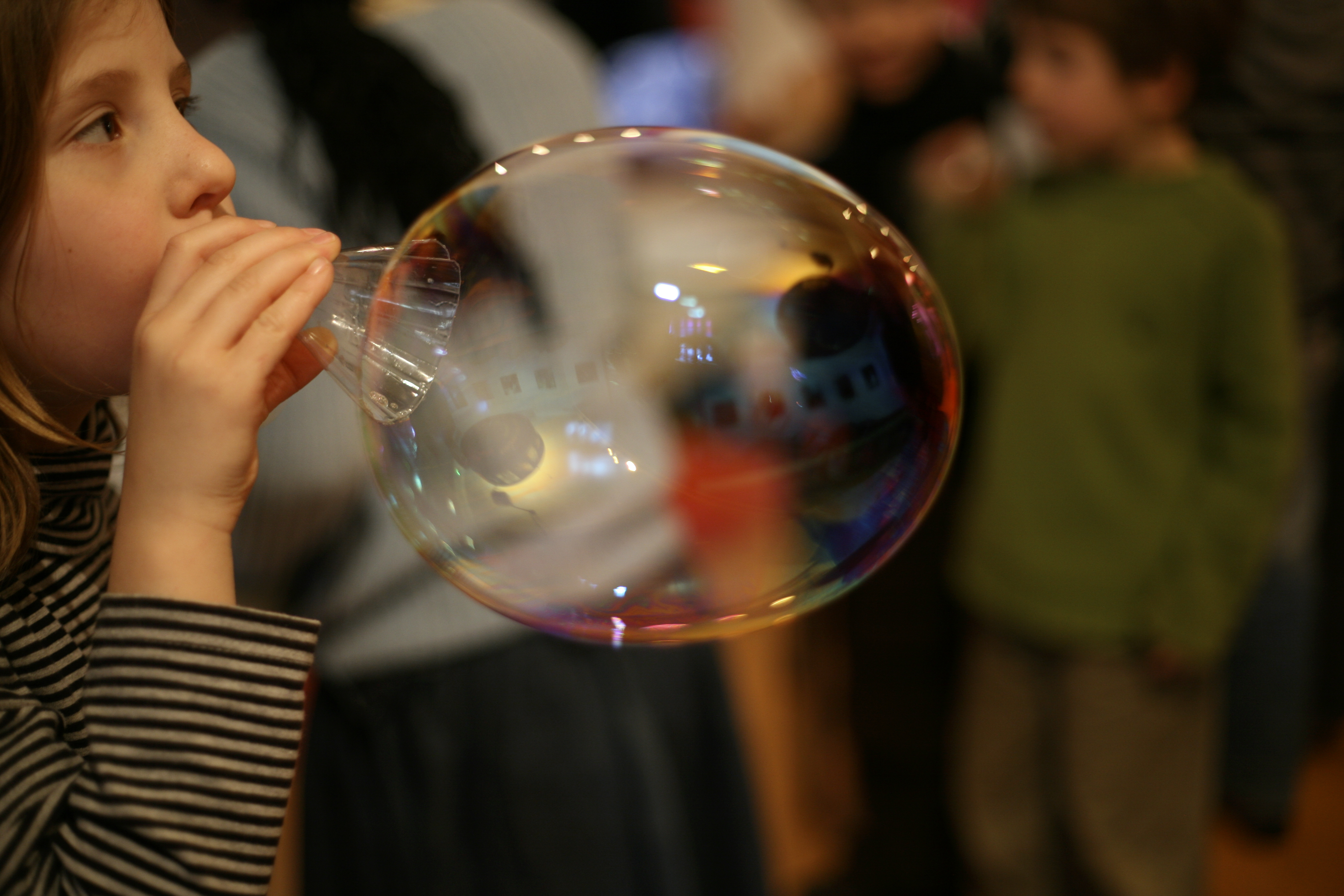 La magie des bulles de savon