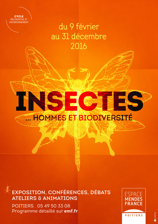 Fermeture exceptionnelle de l'exposition Insectes