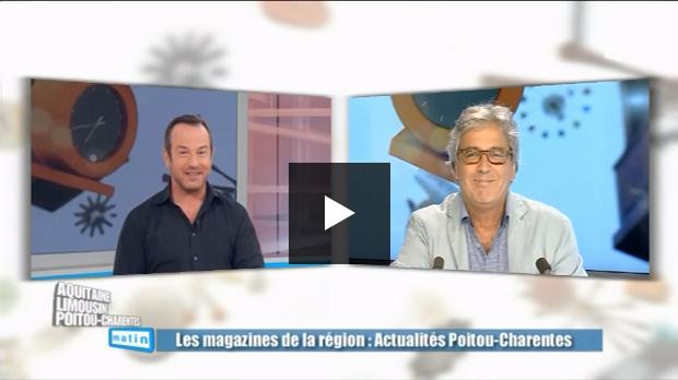 L'Actualité dans Aquitaine Limousin Poitou-Charentes matin
