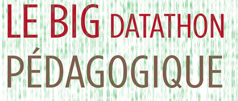Les productions du Big Datathon pédagogique sont en ligne