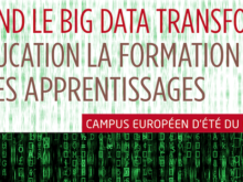 C2E 2016 : Quand le « big data » transforme l'éducation, la formation et les apprentissages