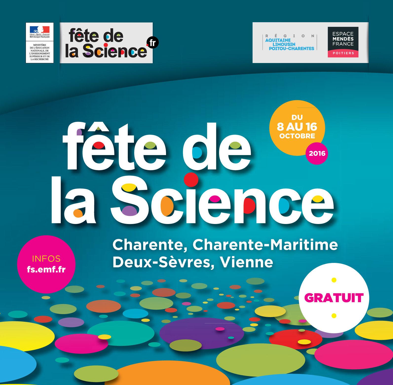 La Fête de la science sur France 3 Poitou-Charentes