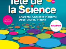Programme de la Fête de la science 2016 // Charente, Charente-Maritime, Deux-Sèvres et Vienne