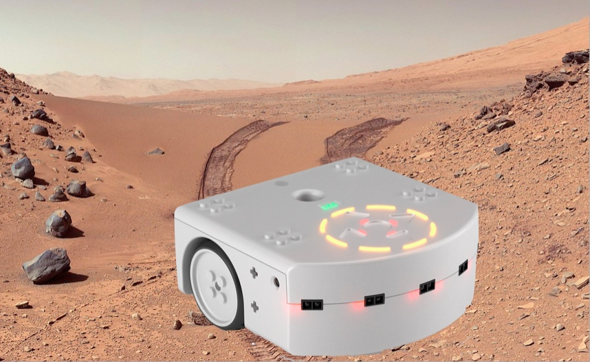 ANNULÉ LES 15 & 16 // Thymio le petit robot sur Mars