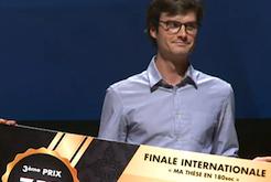 Nicolas Urruty, 3e à la finale internationale de MT180 à Rabat