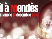 Noël à Mendès : le 18 décembre et pendant les vacances