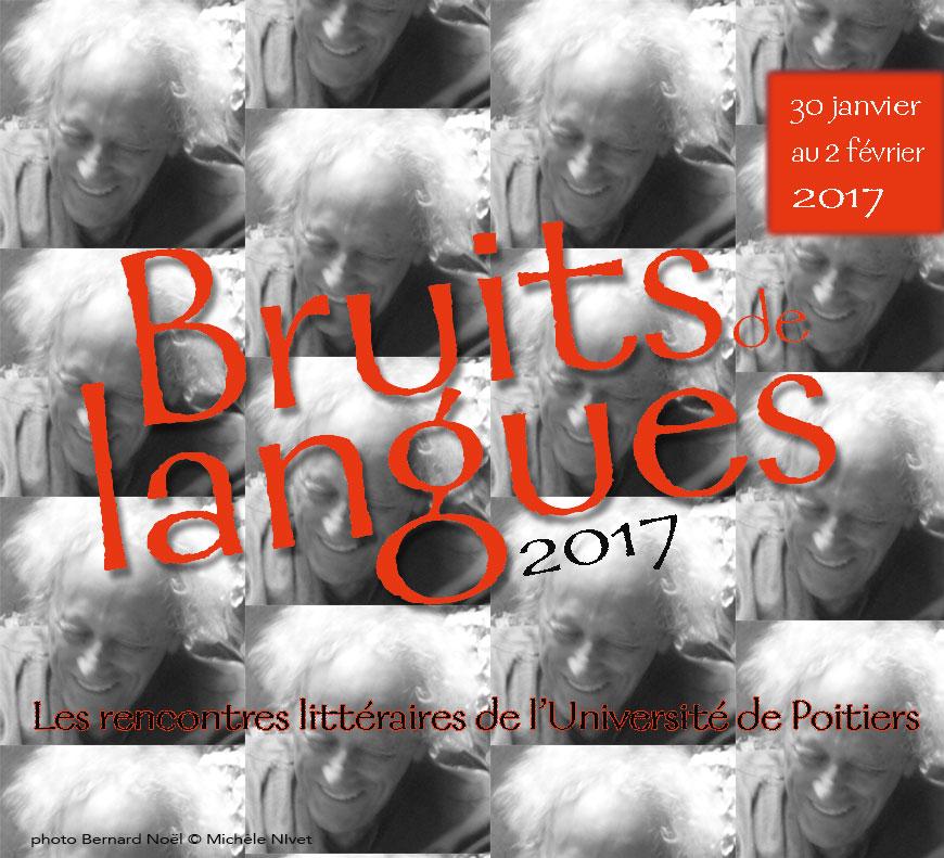 Bruits de langues 2017 – Du 30 janvier au 2 février 2017