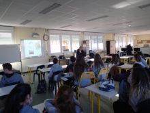 Une journée d'échanges avec les jeunes collégiens de Lezay
