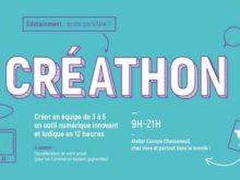 Participez au Créathon 2017 : concours d'innovation numérique et pédagogique