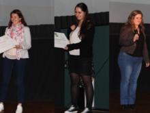 Les gagnantes de la finale «Ma Thèse en 180 secondes»