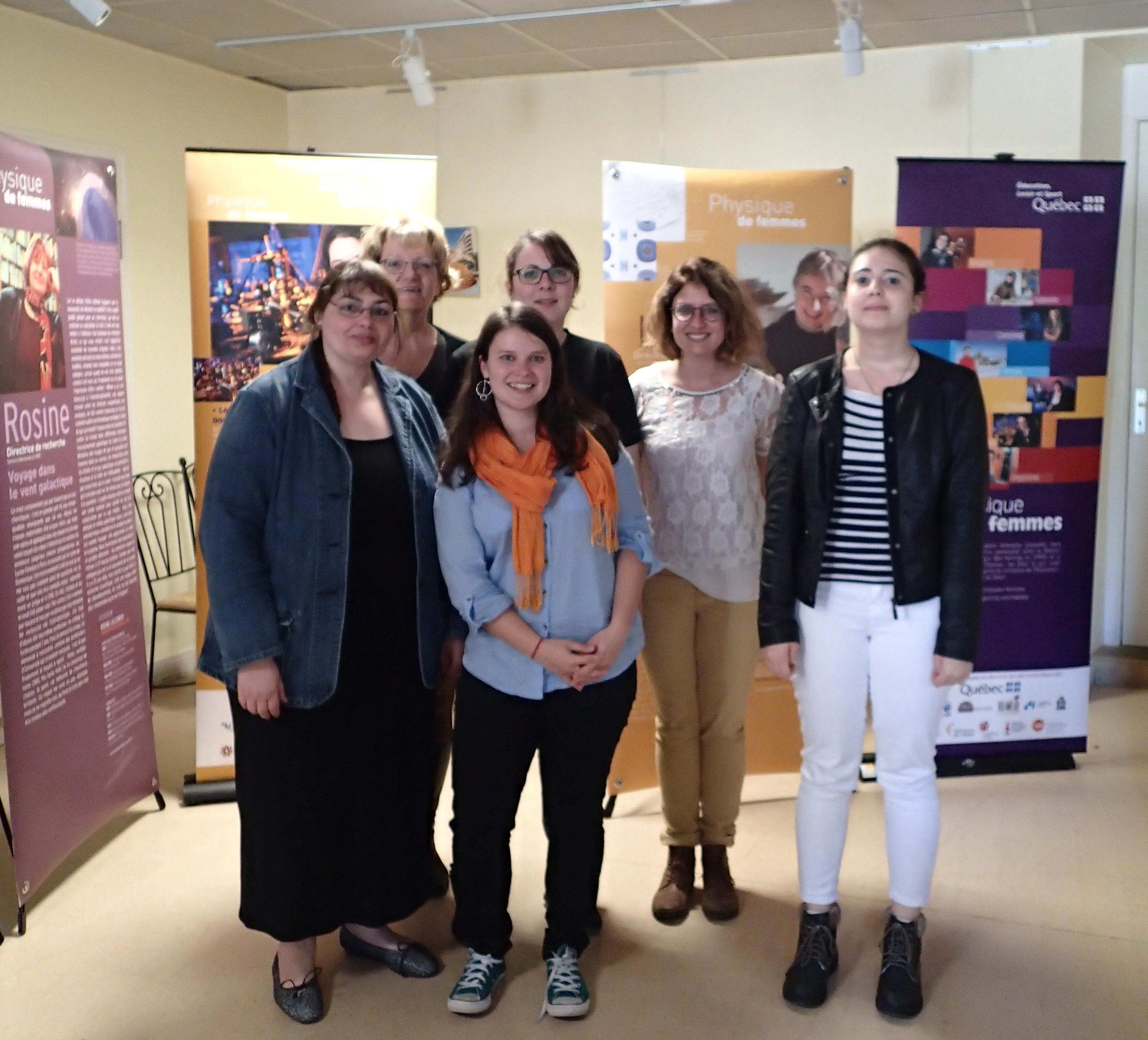Les lycéens de Montmorillon rencontrent des femmes de science