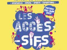 Programme du festival Les Accessifs, Poitiers, mai, juin 2017