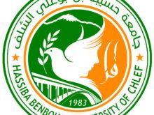 Partenariat avec l'université Hassiba Benbouali de Chlef (Algérie)