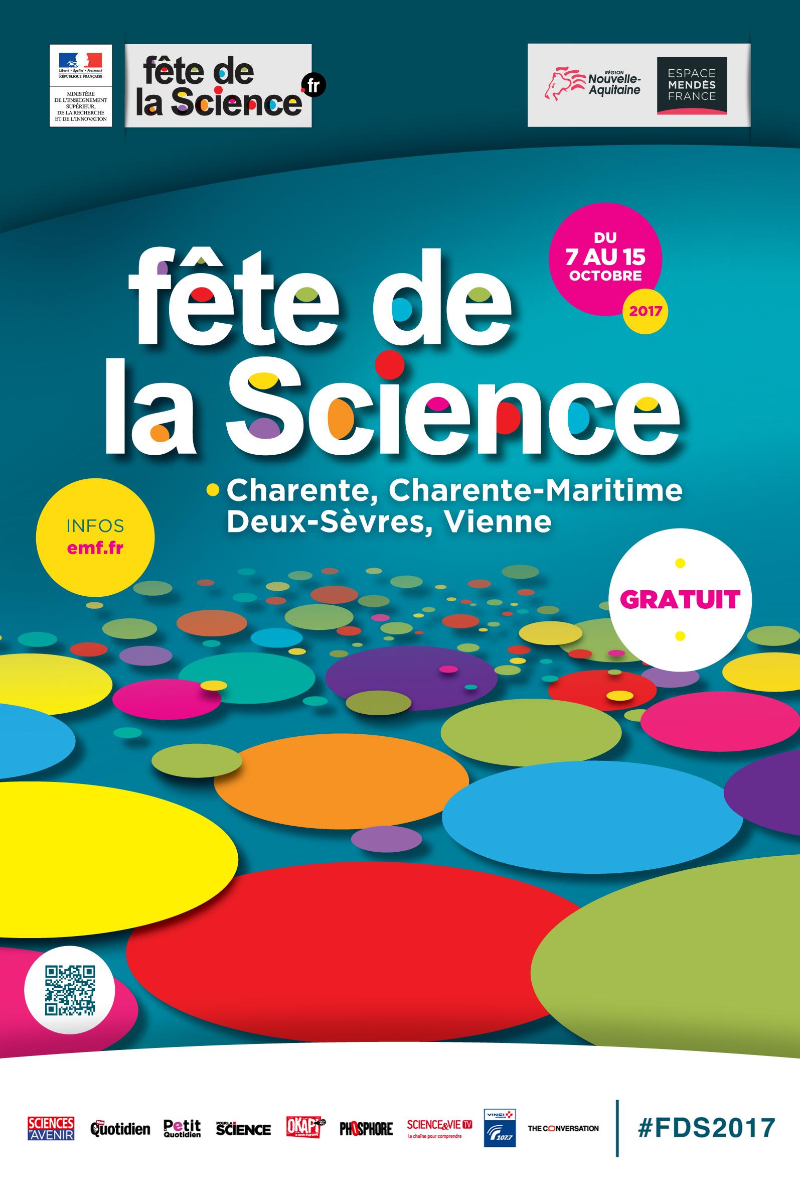La Fête de la science – Du 7 au 15 octobre 2017