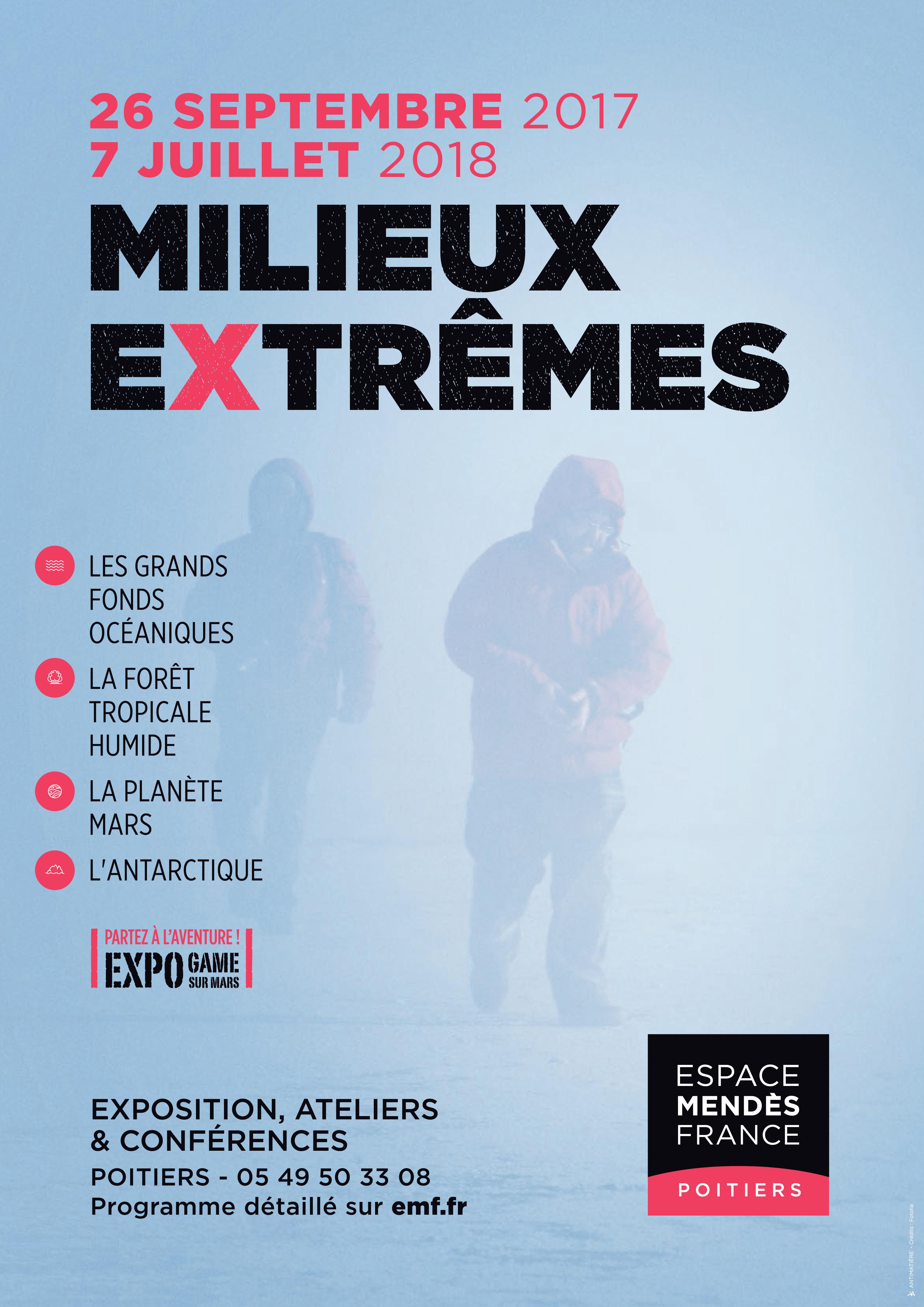 Reportage Milieux extrêmes sur France 3 Poitou-Charentes