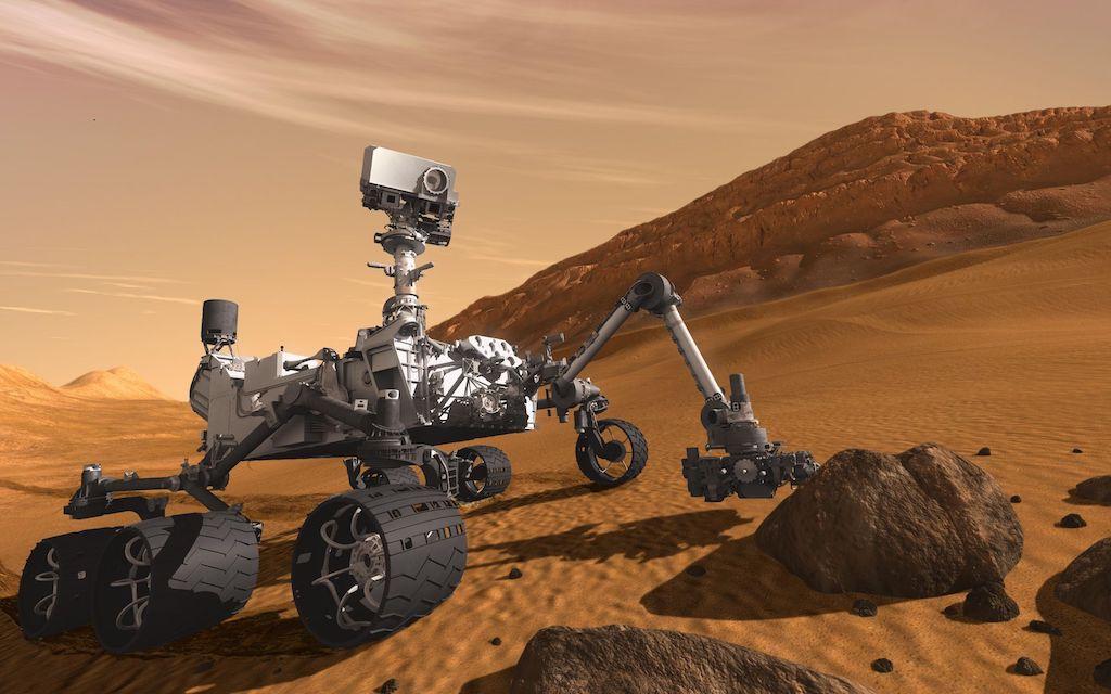 Cinq années d'exploration de Mars avec Curiosity
