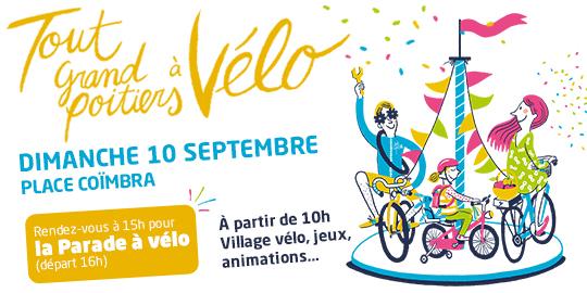 Tout Grand Poitiers à vélo