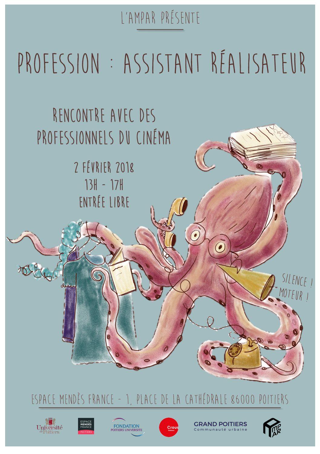 Profession : assistant réalisateur
